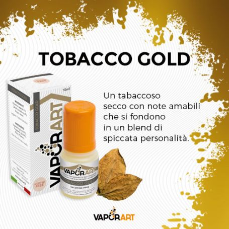 Vaporart 10ml - TOBACCO GOLD