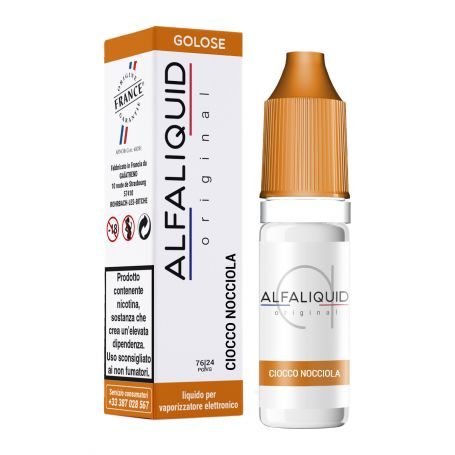 Alfaliquid 10ml - ORIGINAL - CIOCCO NOCCIOLA